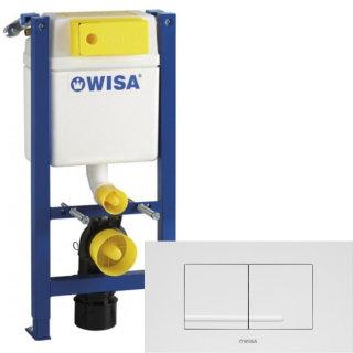 WISA WC SET Vorwandelement XT 83cm geringe Bauhöhe inkl. Betätigung KANTOS WC-Element