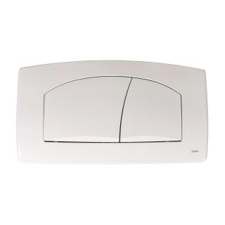JOMO WC Betätigungsplatte TSR 2-Mengen Drückerplatte weiß