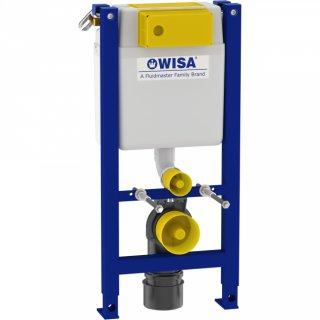 WISA WC Vorwandelement XT 83cm geringe Bauhöhe 38cm breit weiß