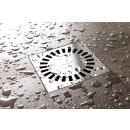 ESS Aqua Brillant Badablauf 150x150mm Duschablauf Bodenablauf