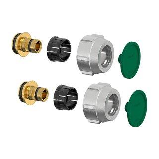 SIMPLEX Klemmverschraubung A 3 14 x 2 mm, f. Kst.- u. Metallverbundrohr