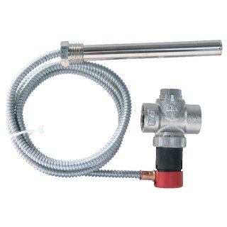 SYR Thermische Ablaufsicherung 3065 Kapillarrohr 1,3m für Heizungsanlagen/Festbrennstoffkessel 3065.20.000