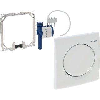 GEBERIT Urinal-Handauslösung HYBASIC pneumatisch weiß-alpin 115.820.11.5