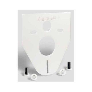 Schallschutz-Set für Wand-WC und Wandbidet