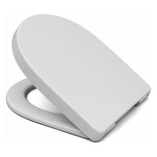 WC-Sitz für DIANA PLUS 2 COMPACT mit Edelstahlscharnieren und Absenkautomatik