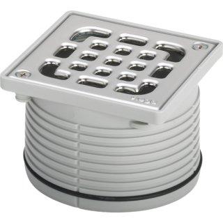 VIEGA Advantix Aufsatz, nicht verschraubt 100x100mm, Rahmen Kunststoff, Rost Edelstahl 555177