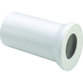 WC-Anschlussstutzen 250 mm lang, weiß