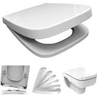 BADOSAN PLAN WC-Sitz für Keramag Renova Nr. 1 PLAN eckig inkl. SoftClose Absenkautomatik