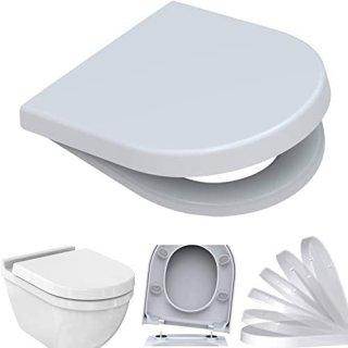 BADOSAN 3 WC-Sitz für Duravit Starck 2/3 inkl. SoftClose Absenkautomatik