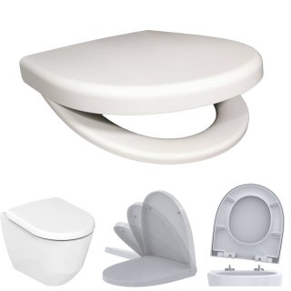BADOSAN ONE WC-Sitz für Keramag Renova Nr. 1 inkl. SoftClose Absenkautomatik