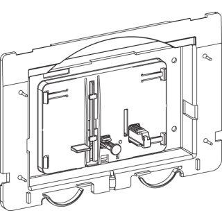 MEPA Betätigungsmechanik für SK SC R11 MEPAsun/star, 2-Mengen-Spülung 590211