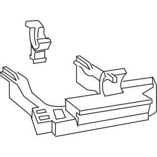 MEPA Lagerbock Spülkasten Sanicontrol A11/A12 für 6-9 l 590804