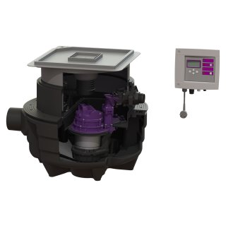 KESSEL Hebeanlage Aqualift F CompactMono SPZ 1000-S3, befliesbare Abdeckung