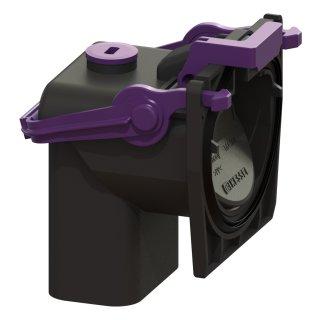 KESSEL 2fach-Rückstauverschluss mit GV für Kellerablauf 47027-29, Nachrüstung 47024-26
