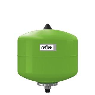 REFLEX Membran-Druckausdehnungsgefäß REFIX DD 12 Liter, Trinkwasser, grün, 10 bar