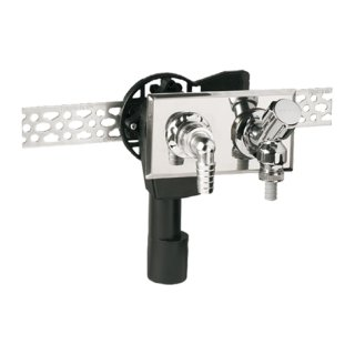 HAAS Unterputz-Siphon 4060 UP-Sifon waagerecht DN 40 / 50 mm Waschmaschine Geräteventil